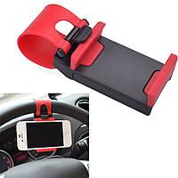 Автомобильный держатель для телефона авто на руль Holder 800 (3_0408)