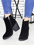 Замшеві черевики Еріка 7177-28, фото 2