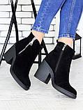 Замшеві черевики Еріка 7177-28, фото 4