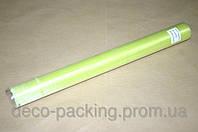 Светло-салатовая органза для упаковки цветов 50 см * 9 ярдов