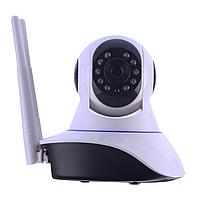 Беспроводная поворотная IP камера WiFi microSD 6030B PT2 100ss (3_8968), фото 1