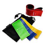 Резинка для фитнеса U-Powex Набор из 5 резинок, фото 3