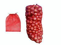 """Сітка овочева 18-20кг 60х40 (100шт) червона ТМ""""КИТАЙ"""""""