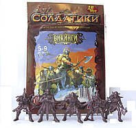Викинги Рота Астерикс Битвы Fantasy набор воинов Технолог (00772)