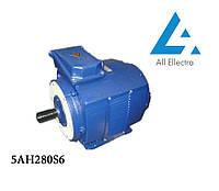 Электродвигатель 5АН280S6 90 кВт/1000 об/мин. 380 В