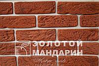 Фасадная плитка Класик Россо-колор 210х60х15 мм