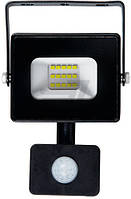 Прожектор с датчиком движения LightMaster LL-700 20 Вт IP44 черный T31334136