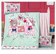 Детский постельный комплект Ранфорс Премиум 100х150