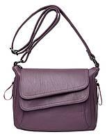 Женская сумка Kavard D1003 с ремнем на плечо в 4 цветах Лавандовый (3_00277), фото 1