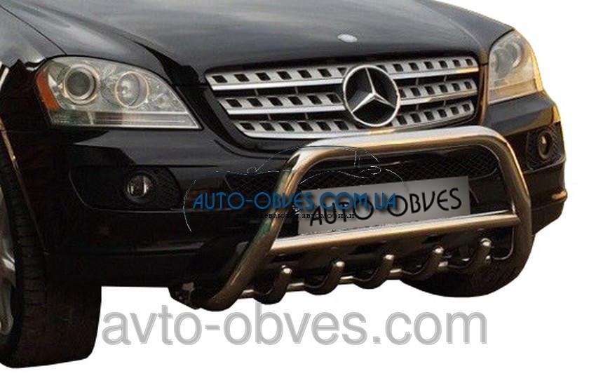 Установка защитного обвеса для Mercedes-Benz ML164