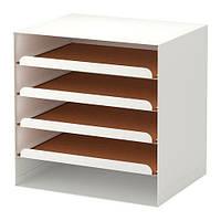 "IKEA ""КВИССЛЕ"" Лоток для корреспонденции, белый"