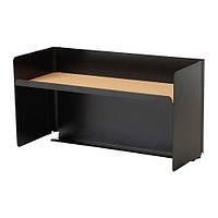 """IKEA """"БЕКАНТ"""" Полка настольная, черный"""
