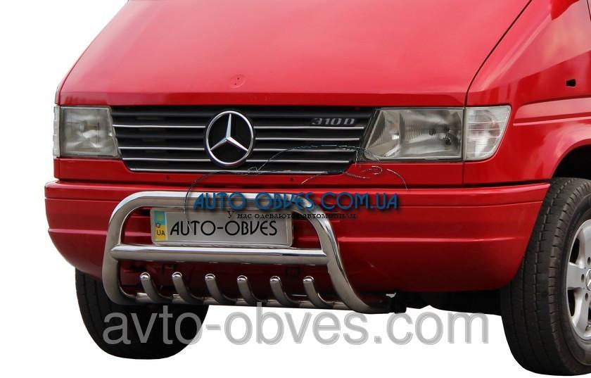 Установка защитного обвеса для Mercedes-Benz Sprinter 1996-2006