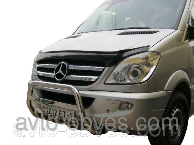 Установка защитного обвеса для Mercedes-Benz Sprinter 2006-2015