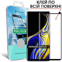 Защитное стекло MakeFuture для Samsung Galaxy Note9 Black Full Glue, 3D (MG3DFG-SN9)