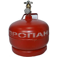 Баллон газовый 5л с вентилем ВБ-2, фото 1