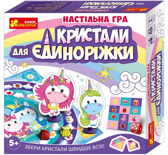 """Настільна гра """"Кристали для Єдинорожки"""" 12120074У"""