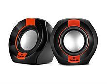 Акустична система REAL-EL S-50 Black/Red UAH