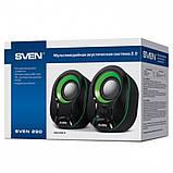 Акустическая система Sven 290 Black/Green UAH, фото 3