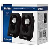 Акустическая система Sven 300 Black UAH, фото 4