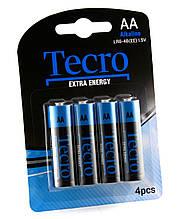 Батарейка Tecro Extra Energy Alkaline AA/LR06 BL 4 шт