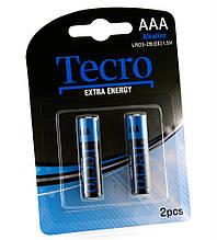 Батарейка Tecro Extra Energy Alkaline AAA/LR03 BL 2 шт