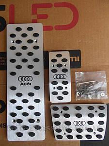 Педали накладки AUDI A6 C6 4F0 автомат