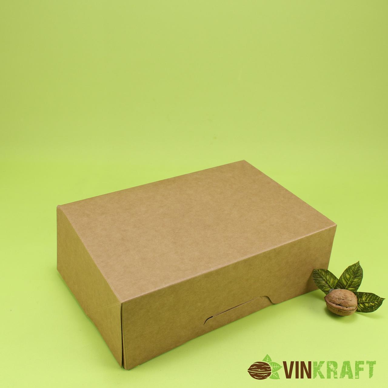 Коробка 255*180*90 для подарунів,  крафт