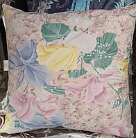 Перьевая подушка для сна 70*70 см квадратной формы