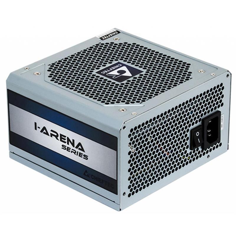 Блок питания Chieftec GPC-600S, ATX 2.3, APFC, 12cm fan, КПД 80%, bulk