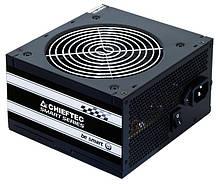 Блок Питания Chieftec GPS-600A8, ATX 2.3, APFC, 12cm fan, КПД >80%, RTL