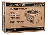 Блок Питания Chieftec GPS-650A8, ATX 2.3, APFC, 12cm fan, КПД >80%, RTL, фото 3