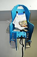 Детское велокресло Koolah на багажник бирюзовое, фото 1