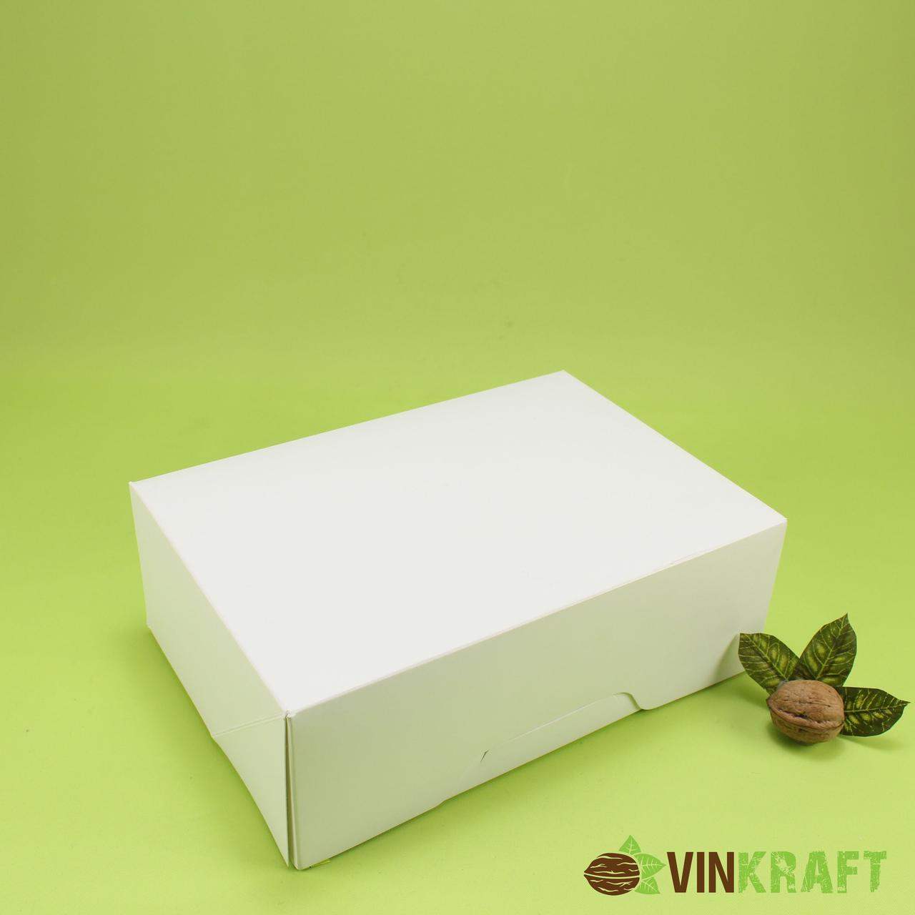 Коробка 255*180*90 для подарунка, біла