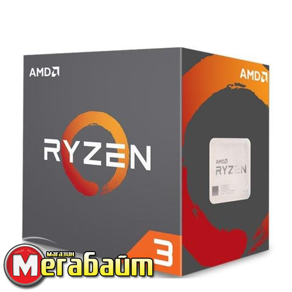 Процессор AMD Ryzen 3 1200 (3.1GHz 8MB 65W AM4) Box (YD1200BBAEBOX)