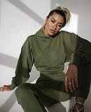 Тёплый удобный женский костюм с начесом VN366, фото 7
