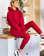 Тёплый удобный женский  спортивный  костюм турецкая трехнитка хб с начесом  VN366