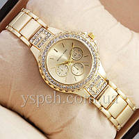 Женские Часы Michael Kors diamond Gold, фото 1
