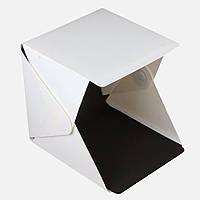 Фотобокс LightKub для предметной макросъемки 30 х 32 х 30 см Белый (LK-30)