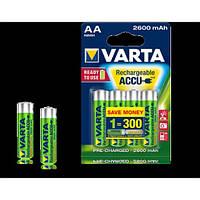 1шт аккумулятор VARTA 2600mAh AA Ready 2 Use ACCU