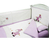 Детское постельное белье Pulsante - ALO 3C сиреневое