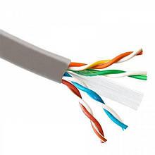 Кабель для зовнішньої прокладки Atcom (88414) Standard UTP, 4х2х0.51 мм, CAT6, 1Gb/s, ВСА, 305м