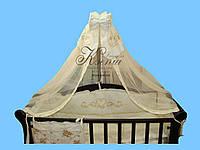 Постельный набор - Диана с балдахином, одеялом, подушкой, защитой