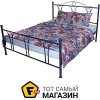 Комплект постельного белья полуторный 143x215 см хлопок синий Руно 1.116 Шахерезада_1 70x70см, полуторный