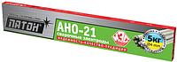 Сварочные электроды АНО-21 4 мм  пачка 5,0 кг (з-д Патон)