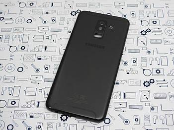 Задняя крышка Samsung A605FN A6 Plus 2018 черная Сервисный оригинал с разборки