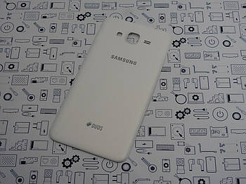 Б.У. Корпус Samsung J700H Galaxy J7 крышка задняя белая Оригинал