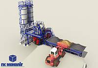 Бетонный завод производительностью 40 М3/Ч (скип)