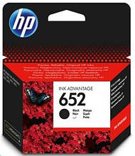 Картридж HP №652 DJ Ink Advantage 1115/2135/3635/3835 (F6V25AE) Black