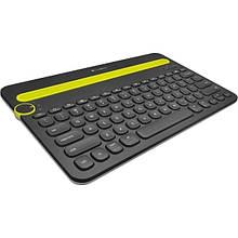 Клавиатура Logitech K480 Bluetooth Multi-Device Keyboard Black (920-006368)